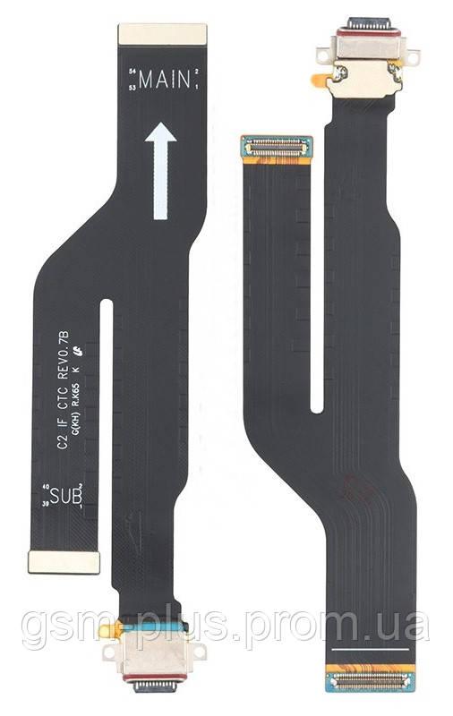 Разъем зарядки Samsung Galaxy Note 20 Ultra SM-N985F, SM-N986F (с платкой) OR