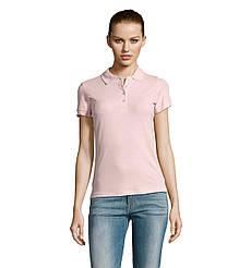 Женская рубашка поло SOL'S PASSION, Pink_147, размеры от S до ХXL