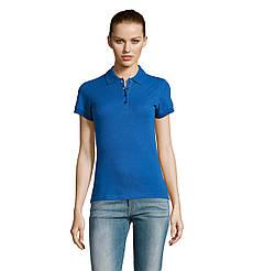 Женская рубашка поло SOL'S PASSION, Royal-blue_241, размеры от S до ХXL