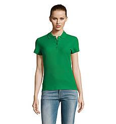 Женская рубашка поло SOL'S PASSION, Kelly-green_272, размеры от S до ХXL