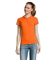 Женская рубашка поло SOL'S PASSION, Orange_400, размеры от S до ХXL
