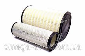 Елемент фільт. повітр. зернозбиральний комбайн КЗС-1218 комплект (RIDER) 725-1109560
