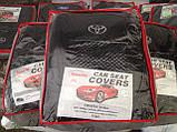 Авточехлы на Toyota Avensis 2003-2009 универсал Favorite,Тойота Авенсис, фото 3