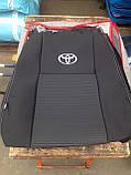 Авточехлы на Toyota Avensis 2003-2009 универсал Favorite,Тойота Авенсис, фото 7