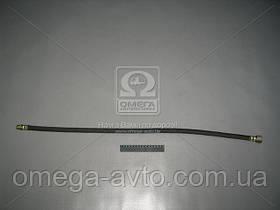Шланг гальмівний КРАЗ L=890 гнучкий до коліс заднього моста (г-ш) (вир-во АвтоКрАЗ) 255Б-3506060-06