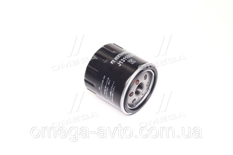 Фильтр масляный Nissan JUKE 10-; NOTE 13-; QASHQAI 13-; TIIDA 12- (пр-во Jakoparts) J1311035