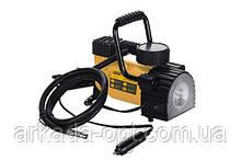 Компрессор автомобильный СИЛА однопоршневой 35 л/мин. 7 Атм. с фонарем (052707)