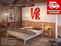 Кровать Камелия 180*200 металлическая, фото 1
