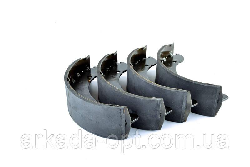 Колодка заднего тормоза AURORA ГАЗ 3302, 2705, 2217, 2752, 3221 Газель 4 шт (025977)