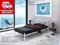 Ліжко Примула 80*200 металева, фото 1