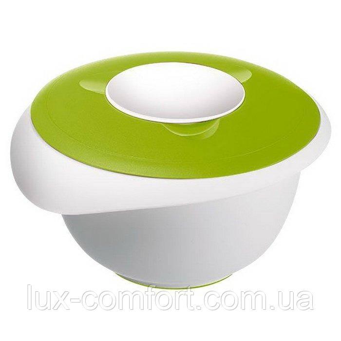 Ємність WESTMARK для збивання міксером з кришкою зелена 2,5 л (W3153227A)
