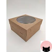 Коробка картон тортница 18х18х9