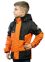 Куртка демісезонна Be easy 116 Помаранчевий (21VKM3-16-1464)