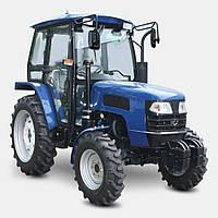 Трактор ДТЗ 5404К (40л.с.,кабина, КПП 8+8, 4х4, ГУР, 2 насоса гидравлики, 2 диска сцепления)