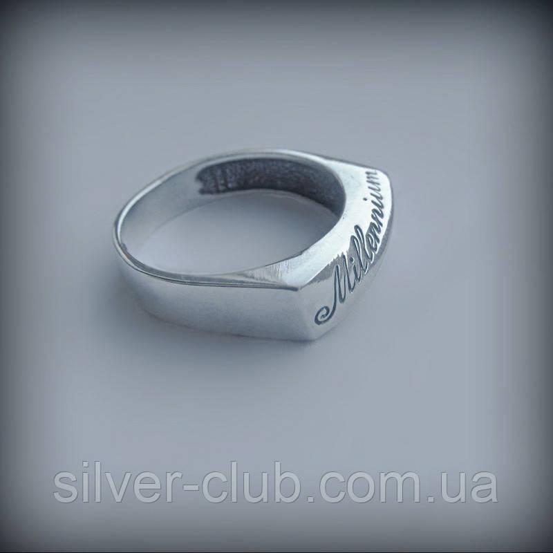 5c4ef13173c9 1043 Мужская печатка Миллениум из серебра 925 пробы   продажа, цена ...