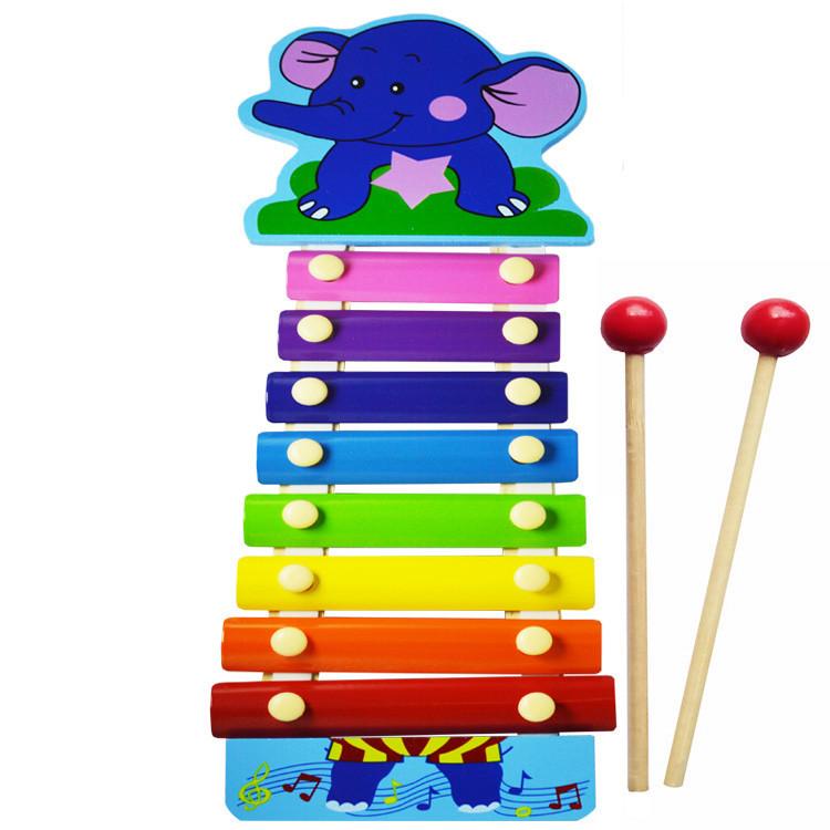 Деревянная игрушка Ксилофон MD0712 (Слоник)