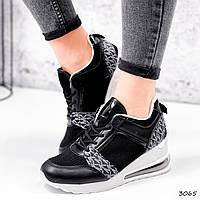 Кросівки жіночі Nela чорний 3065