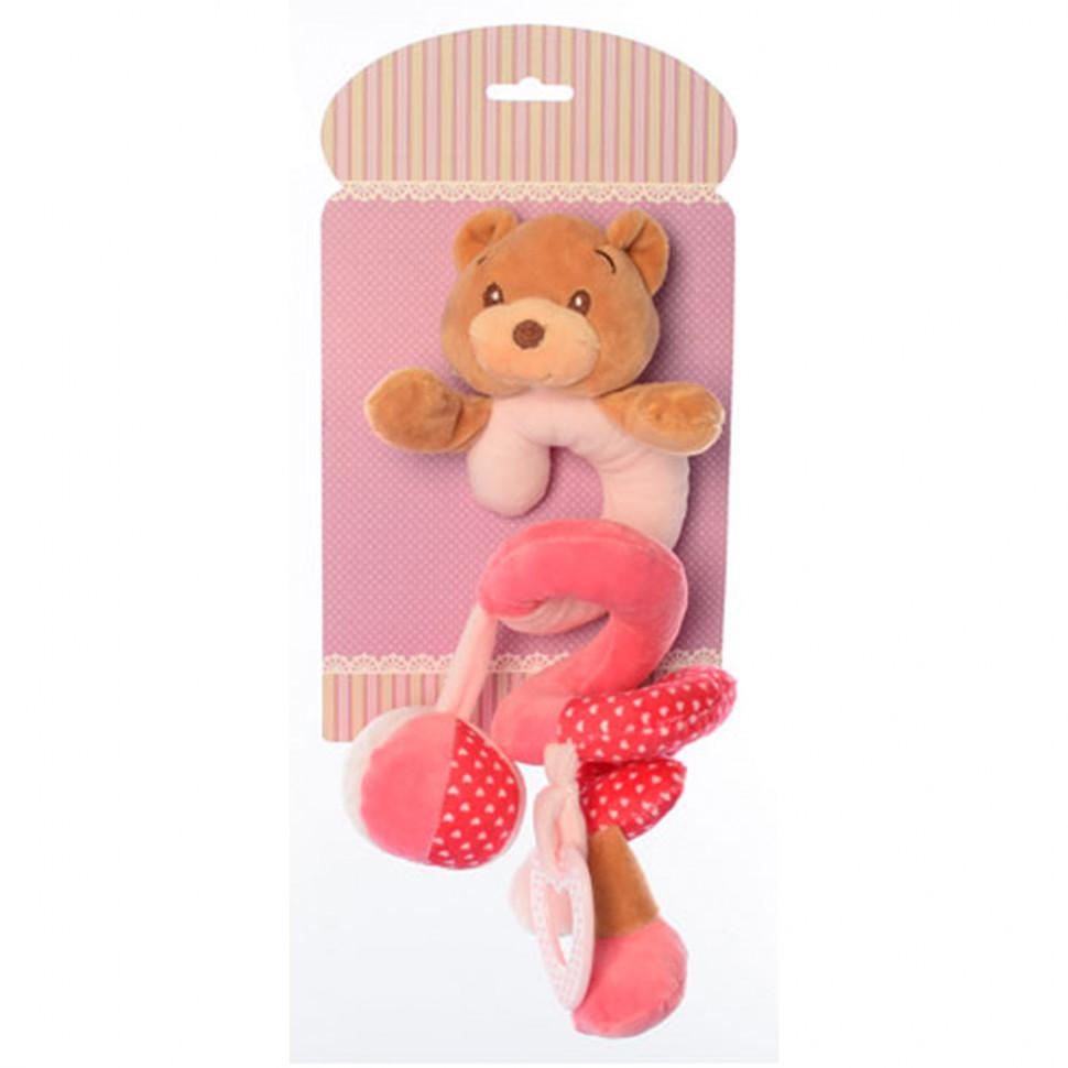 Подвеска X16403 на кроватку (Мишка розовый X16403B(Pink))