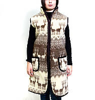 Дублянка хутряна із овечої вовни, 44-58 розмір в наявності, пальто із овчини, жилетки хутряні