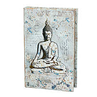 Книга сейф копилка для денег 26 см Будда