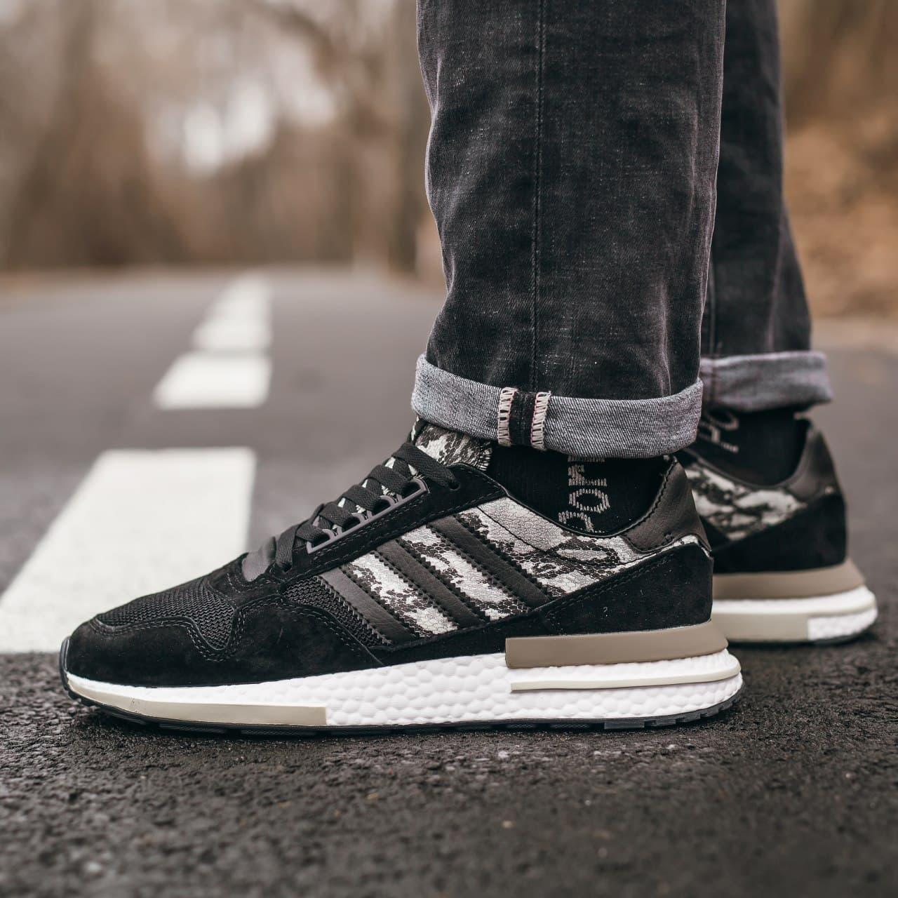 "Мужские кроссовки Adidas ZX 500 RM ""Black Camo"""