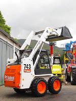 Мини погрузчик Bobcat 743 , дизель , 589 кг
