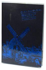 "Блок.- чёрн.лист,обл.ПВХ ,А5/52л.""Города"" 110г/кв.м,4вид.(4*48)"