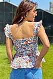 YI MEI SI Стильная женская блузка - белый цвет, M, фото 2