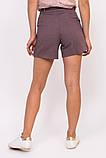 LUREX Джинсовые женские шорты - фиолетовый цвет, L, фото 3