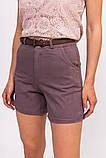 LUREX Джинсовые женские шорты - фиолетовый цвет, L, фото 4
