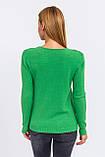 P-M Джемпер с цветочной кружевной вставкой - зеленый цвет, L/XL, фото 3