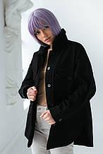D-K Basic Котоновая куртка-пиджак с накладными карманами - черный цвет, M
