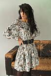 LUREX Элегантное платье с интересным рисунком - серый цвет, M, фото 3
