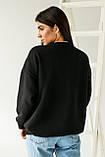LUREX Толстовка с ярким принтом Гарфилд - черный цвет, S, фото 2