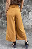 PERRY Шикарные кюлоты с высокой талией  - горчичный цвет, M, фото 2