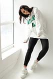 ADVES Худи оверсайз с капюшоном - белый цвет, S/M, фото 6