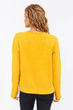 P-M Стильный короткий кардиган - желтый цвет, XL/XXL, фото 2