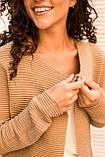 P-M Короткий кардиган люрекс - коричневый цвет, L/XL, фото 3