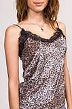 LUREX Женская майка в бельевом стиле - коричневый цвет, L, фото 4