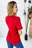 TITUS Милая футболка мама и дочка - красный цвет, M, фото 2