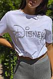 LUREX Базовая футболка с вышитой надписью  - белый цвет, L, фото 3