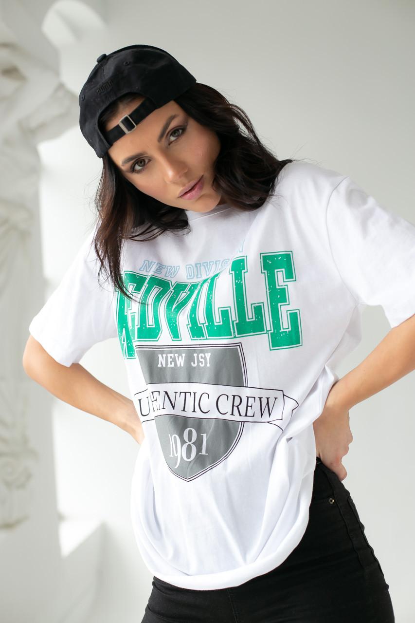 Enjoy Carnavale Прямая женская футболка с принтом - белый цвет, L