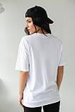 Enjoy Carnavale Прямая женская футболка с принтом - белый цвет, L, фото 2
