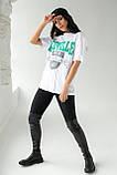 Enjoy Carnavale Прямая женская футболка с принтом - белый цвет, L, фото 3