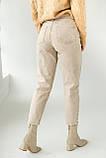 PERRY Котоновые джинсы мом - бежевый цвет, L (40), фото 2