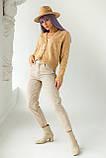 PERRY Котоновые джинсы мом - бежевый цвет, L (40), фото 3