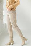 PERRY Котоновые джинсы мом - бежевый цвет, L (40), фото 5