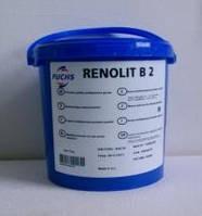 Смазка для для всех видов подшипников скольжения и качения FUCHS RENOLIT B 2 (5 кг)