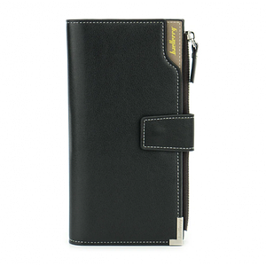 Клатч чоловічий гаманець портмоне барсетка Baellerry Carteira C1283 Чорний, (Оригінал)