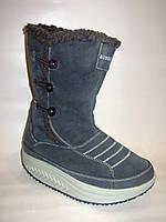 Ботинки женские зимние на платформе